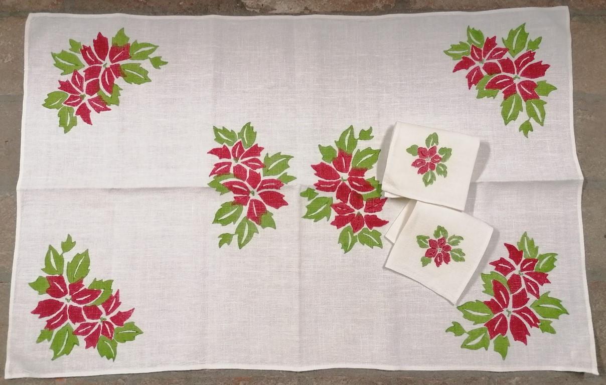 copy of Tovaglietta natalizia con due tovaglioli Stella di Natale