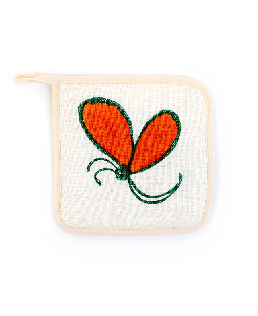 Butterflies Potholder
