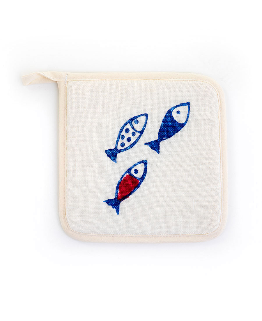 Little Fish Potholder