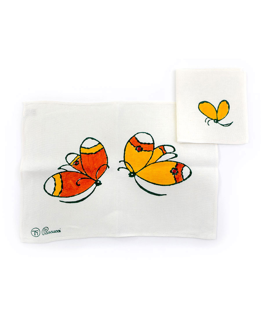 Butterflies Placemat with napkin