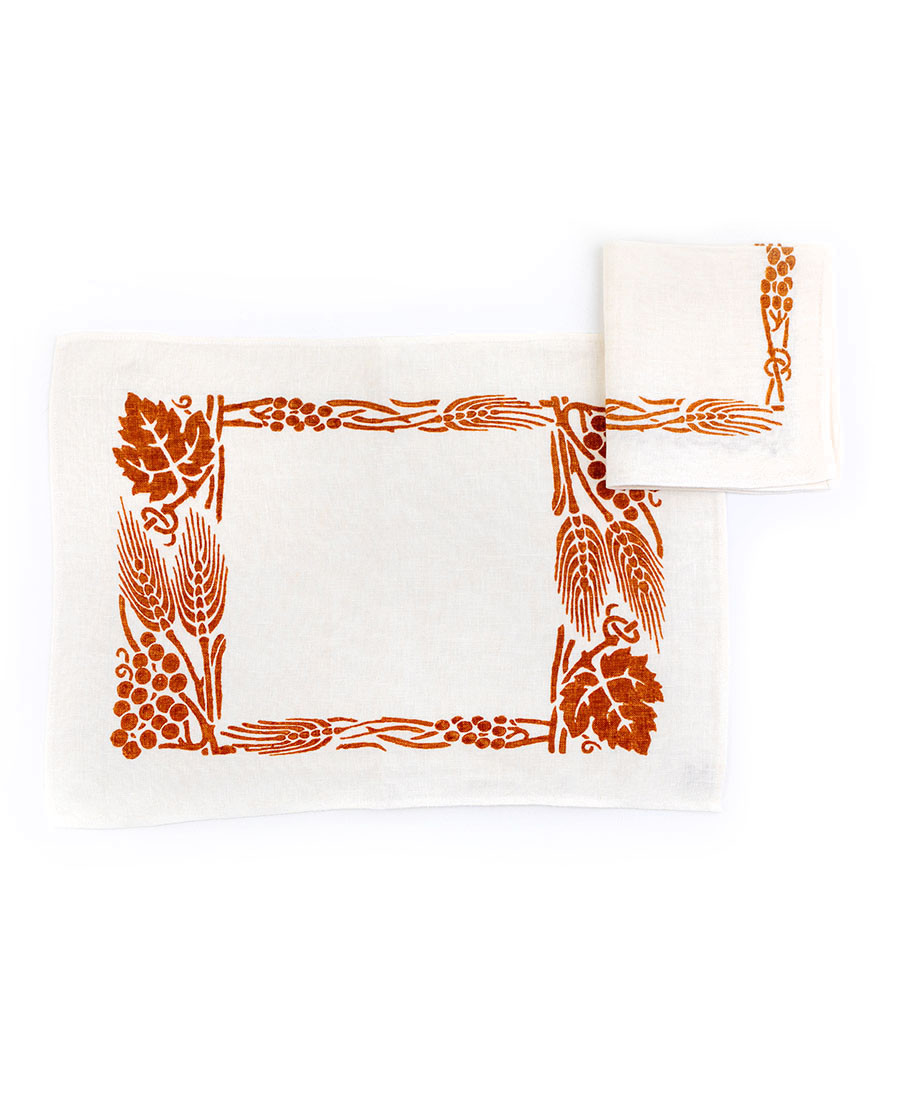 429 Placemat with napkin