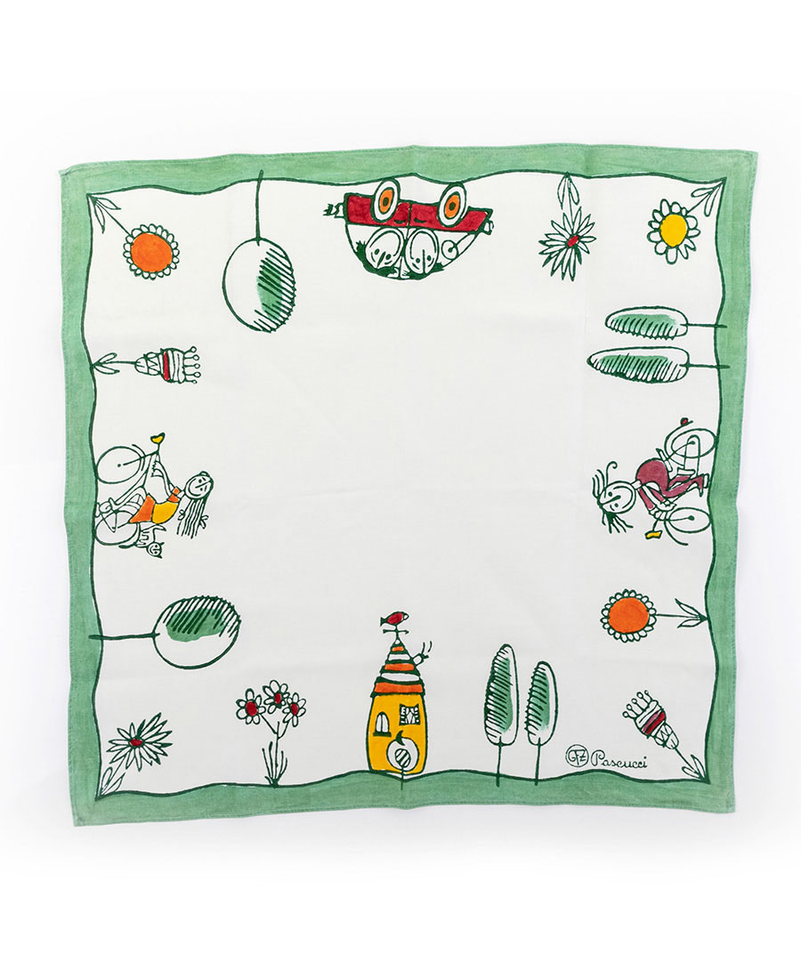GFZ Square Tablecloth