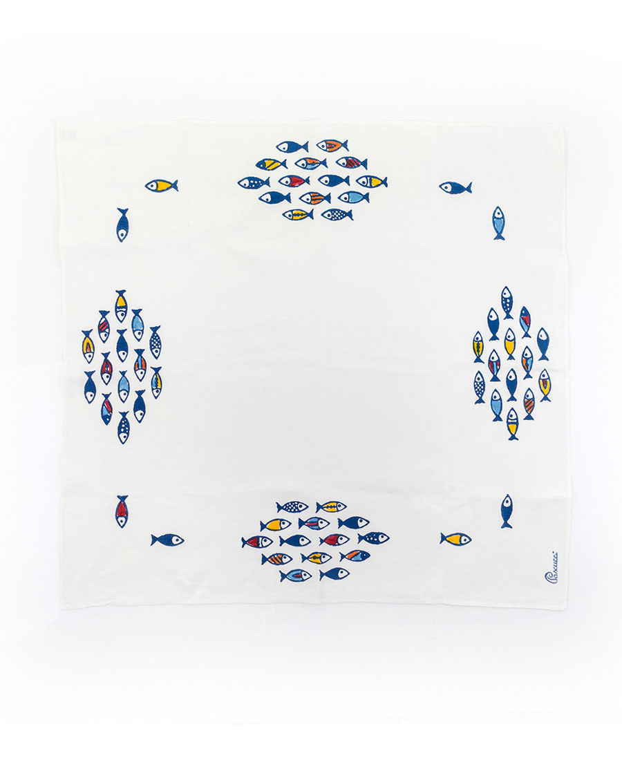 Little Fish Square Tablecloth
