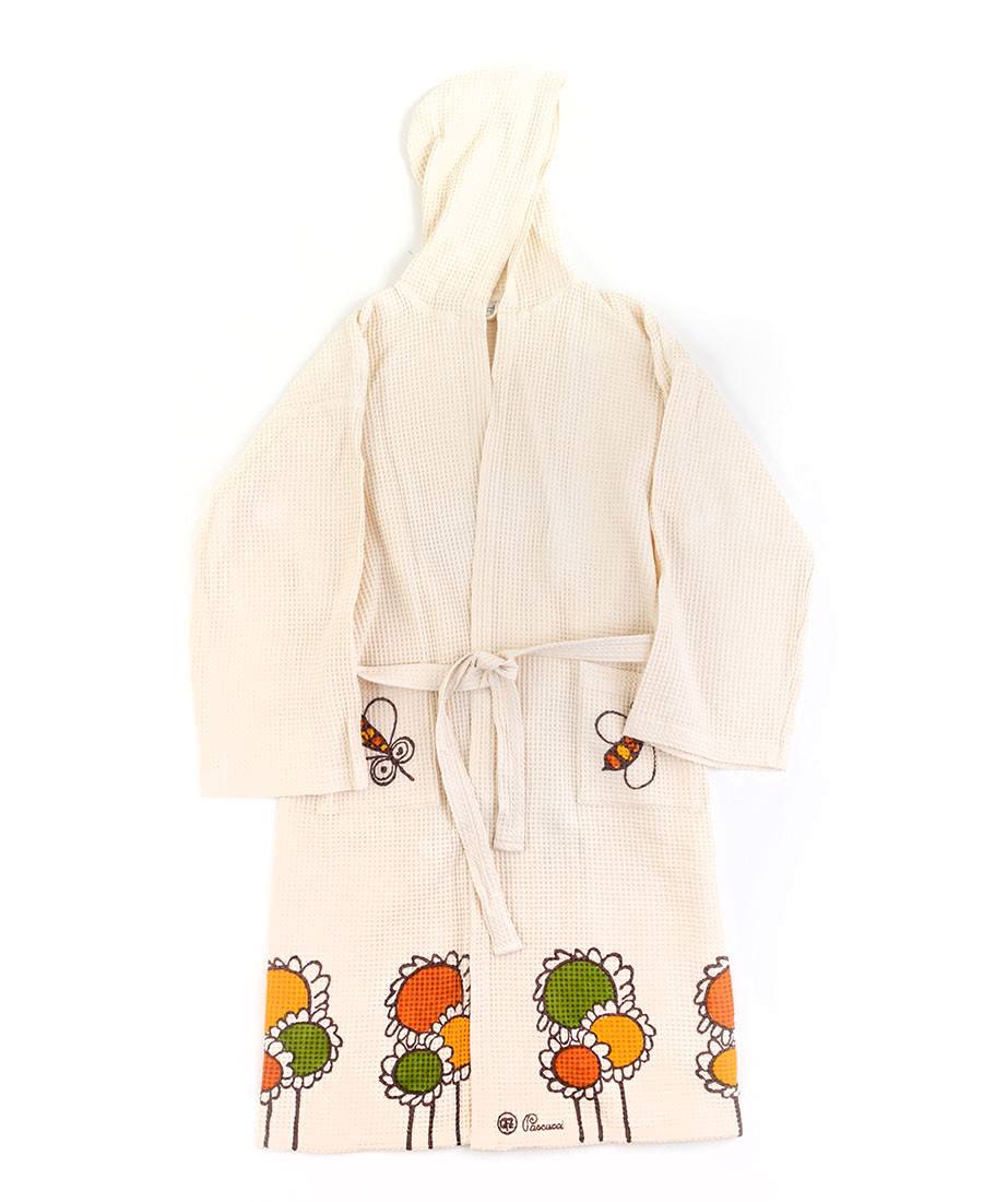 Sunflowers Bathrobe