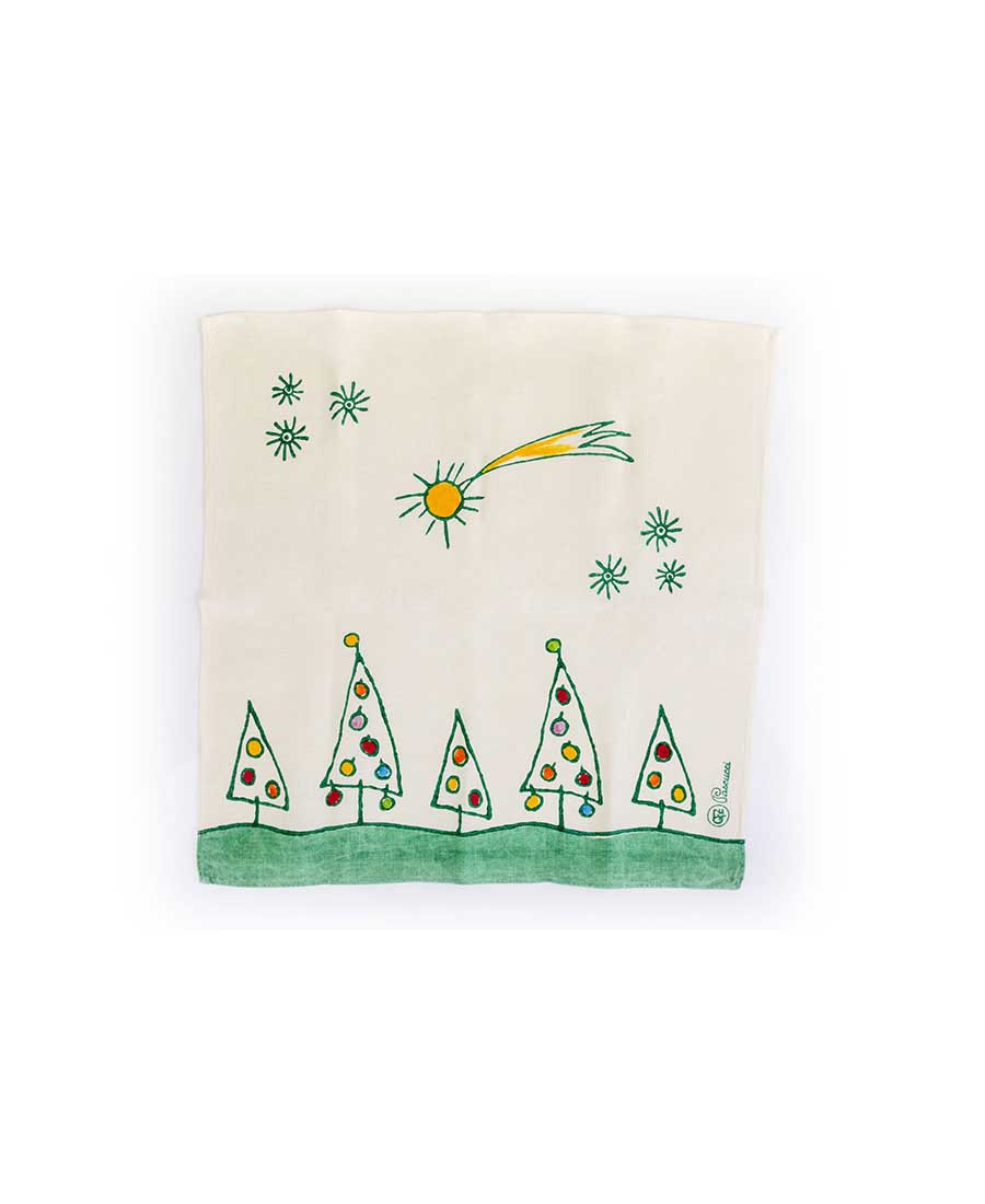 Strofinaccio natalizio alberini GFZ